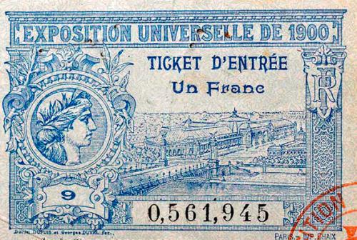 1900-billet d'entrée